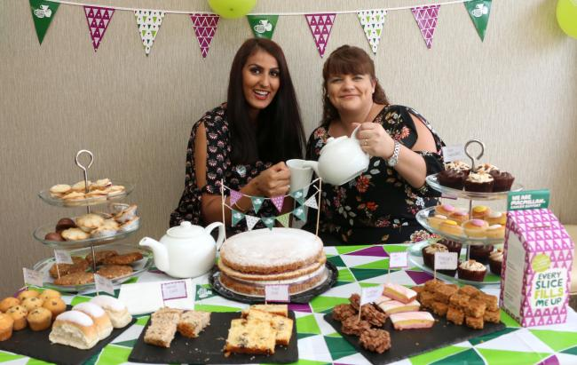 Send us your pictures from the Macmillan Cancer Support charity day